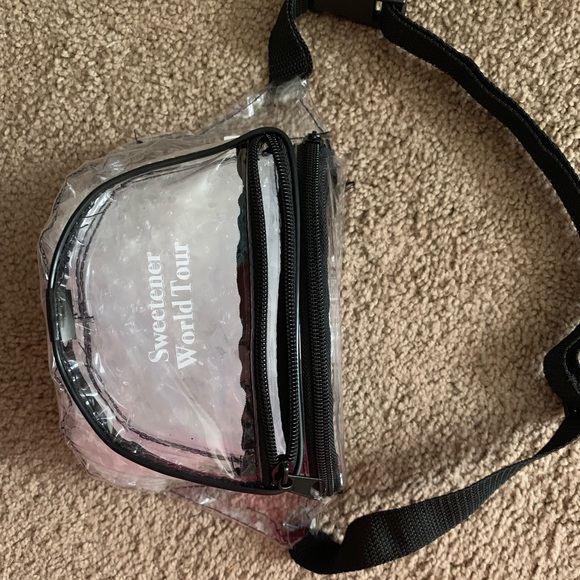 f3e6d0c303f Sweetener Tour clear fanny pack FOR ANNA
